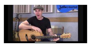 Justin Guitar Beginner Lessons _ اپلیکیشن موسیقی _ آکادمی گذر موسیقی